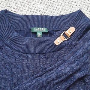 Ralph Lauren sweater with buckle